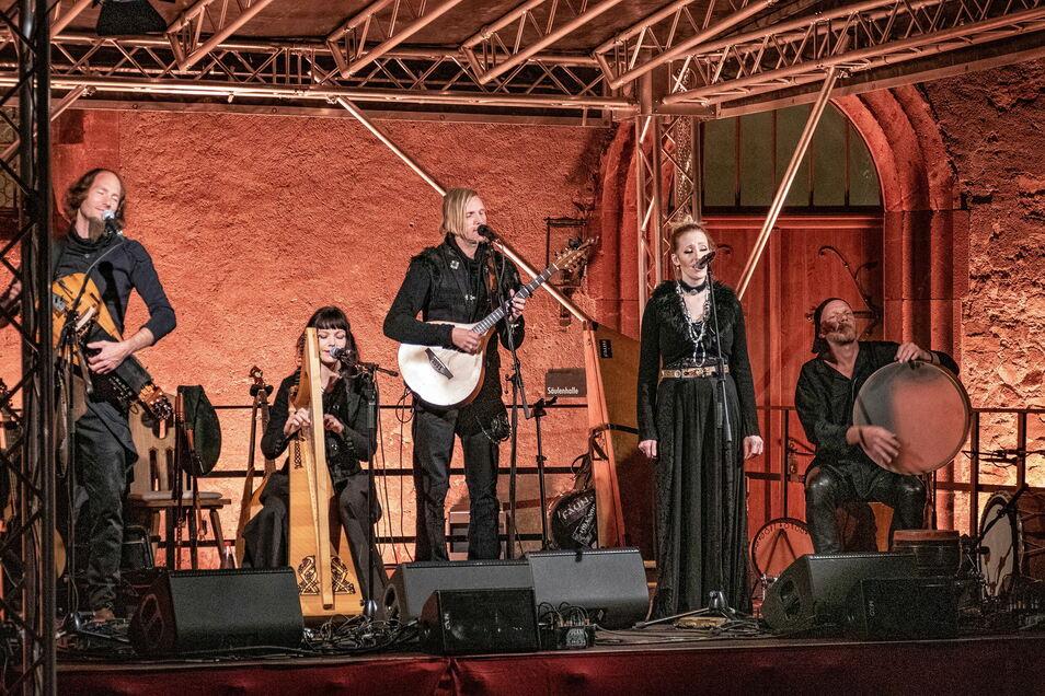 """Die Folk-Band """"Faun"""" begeisterte bei zwei exklusiven Konzerten die Besucher."""