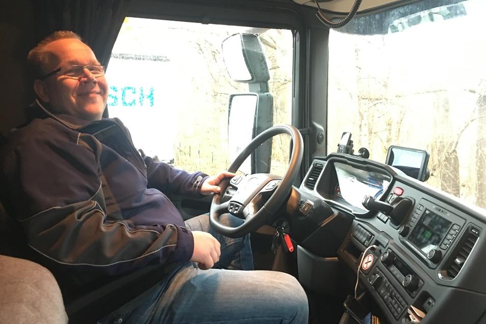 Martin Semetzky durfte sich ein Cockpit nach eigenen Wünschen zusammenstellen.