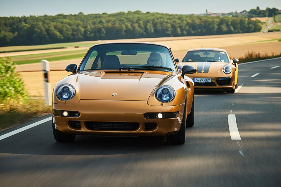 Am 10. Oktober lässt sich der Porsche 993 auch auf Meißens Straßen sichten.