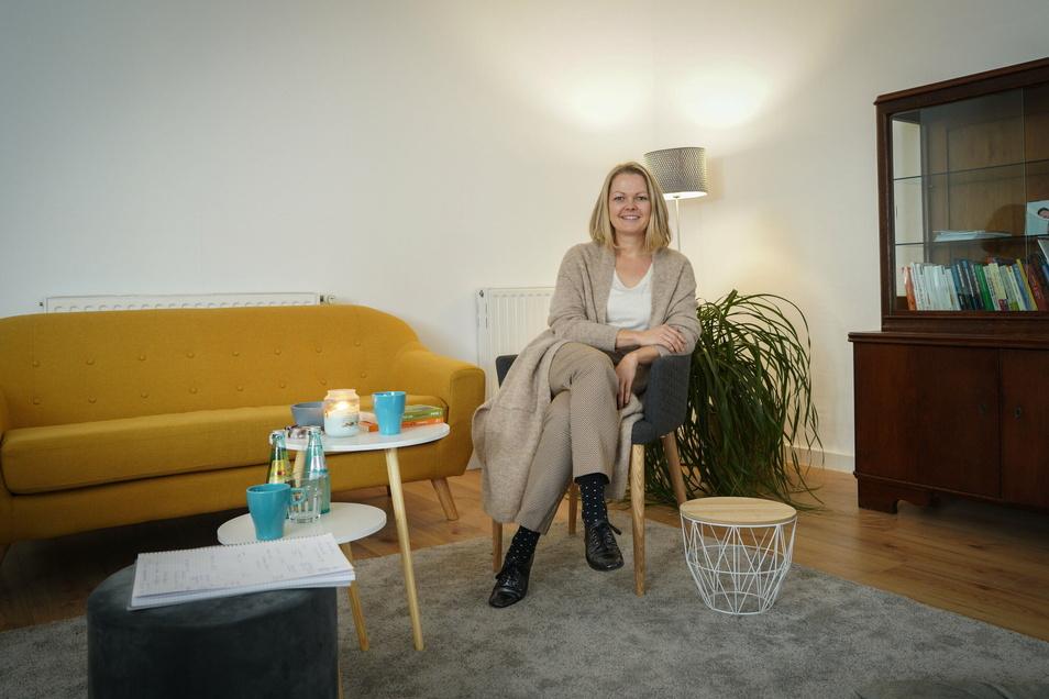 Annette Lischen will Freiberufler zusammenbringen - und bietet deshalb in Bautzen Büroräume an, in die man sich tageweise einmieten kann.