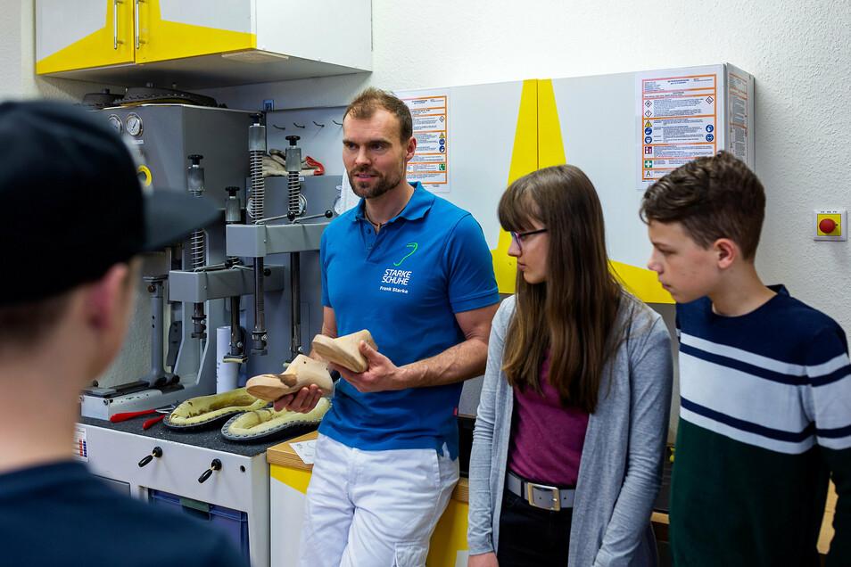 Bei der Aktionswoche im Februar dieses Jahres machte auch die Orthopädie-Schuhtechnik Starke in Freital mit.