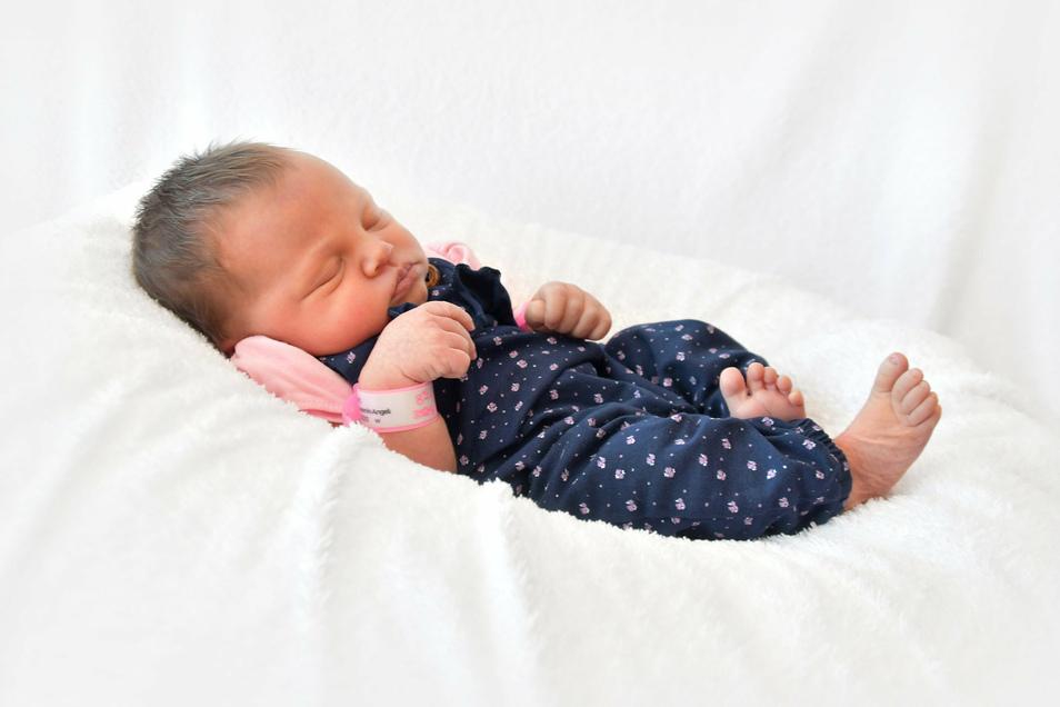 Samira Jasmin, geboren am 10. Juli, Geburtsort: Pirna, Gewicht: 3.520 Gramm, Größe: 51 Zentimeter, Eltern: Anja und Benjamin Malchert, Wohnort: Pirna