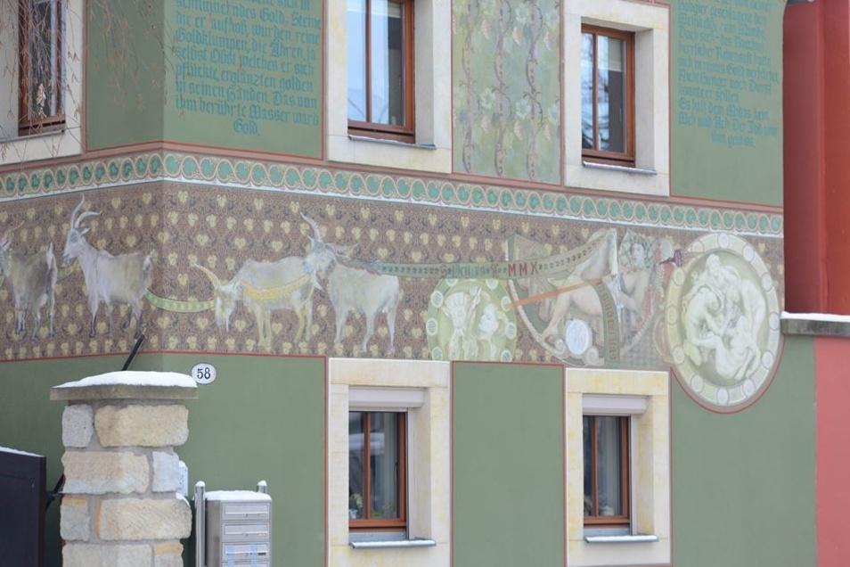 Besonders im Blickpunkt: Fassaden und Farben.
