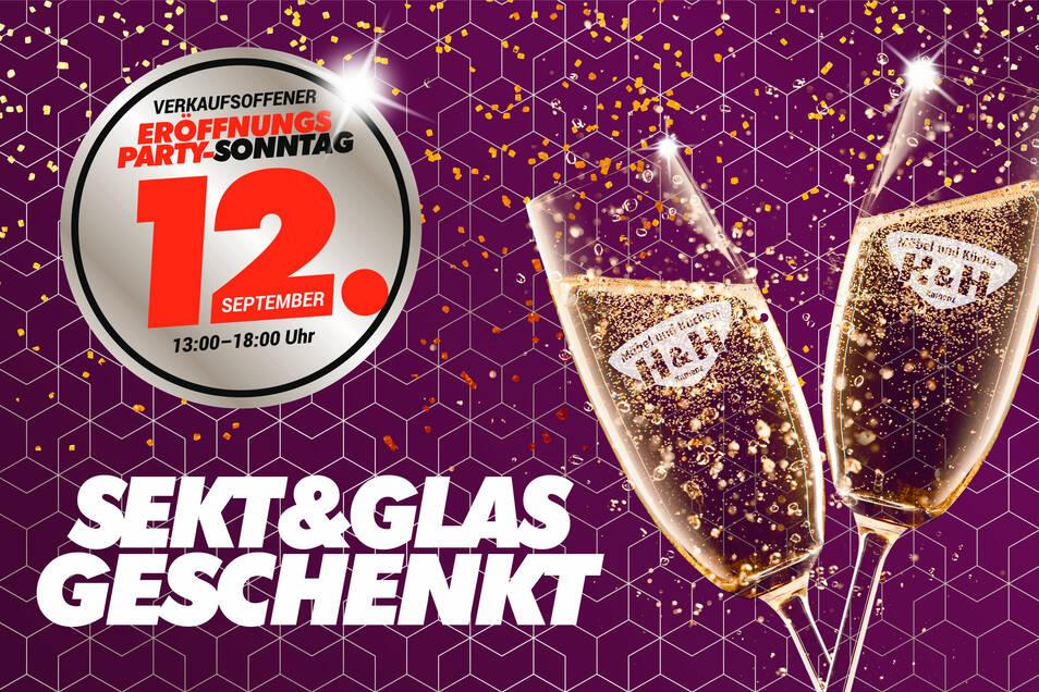 Während Ihrer Beratung verwöhnen wir Sie und Ihre Begleitung mit einem Glas Sekt (gern auch alkoholfrei). Das limitierte H&H-Sektglas gibt's zusätzlich geschenkt.