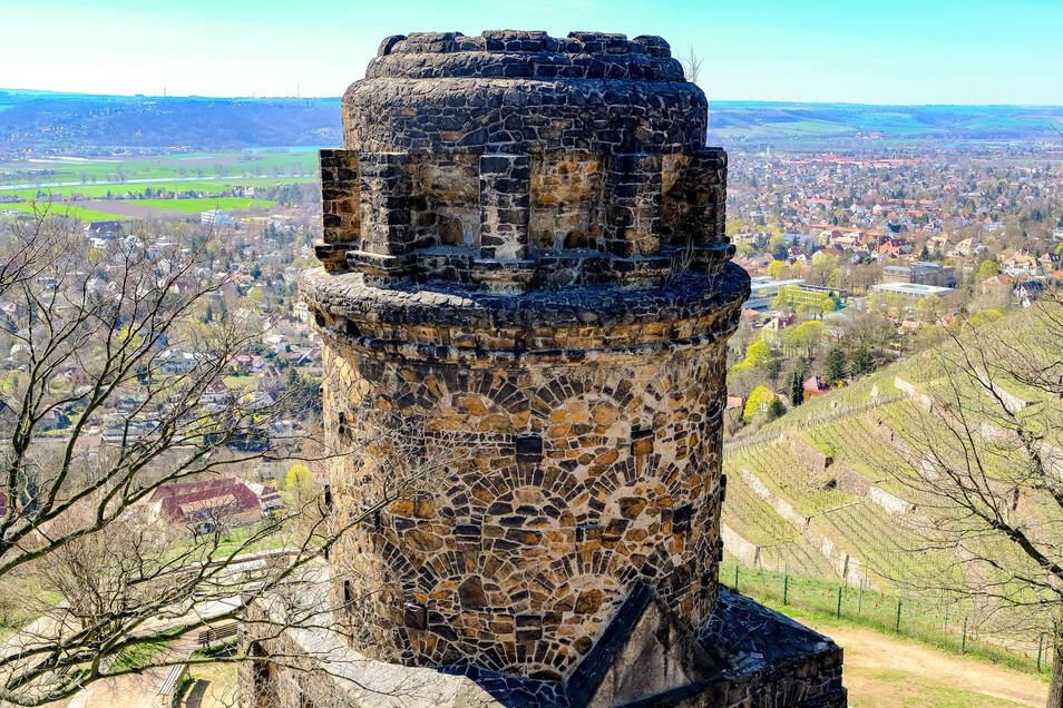Die Aussichtsplattform auf dem Bismarckturm bleibt bis kommenden Frühjahr geschlossen.