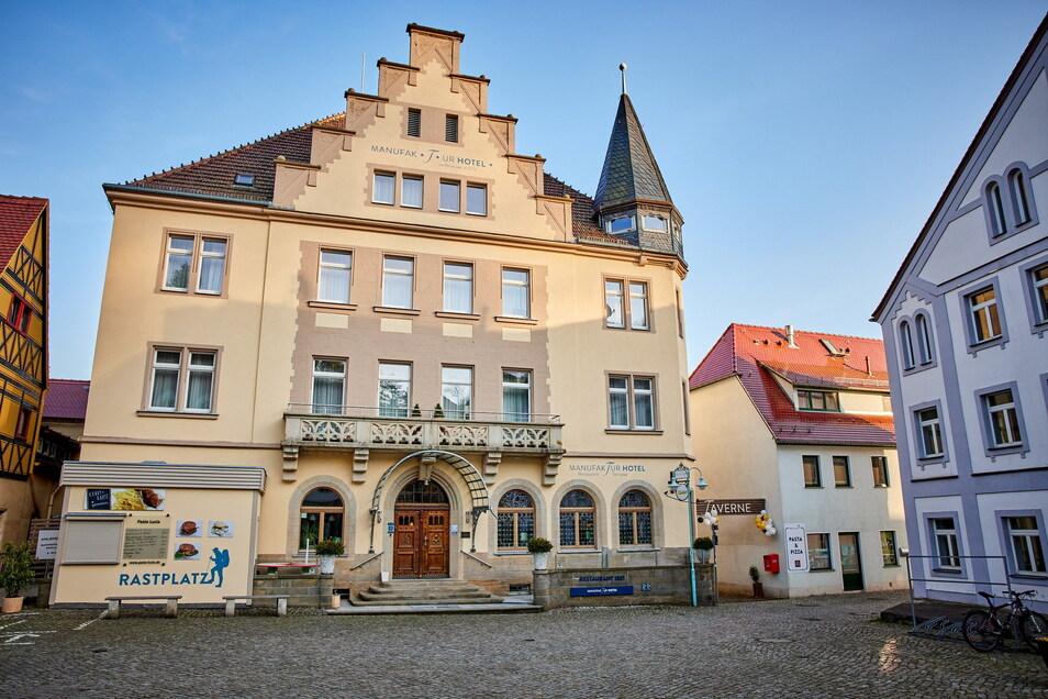 Das Manufakturhotel am Markt in Stadt Wehlen ist der neue Arbeitsplatz von Thorsten Bubolz, genauer: das Restaurant 1881.