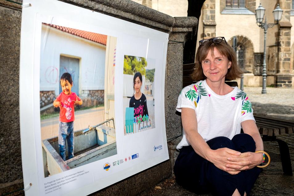 Die Bautzenerin Bettina Renner hat zum zweiten Mal ein Projekt mit geflüchteten Kindern in einem griechischen Lager durchgeführt. Die Ergebnisse sind jetzt in Bautzen zu sehen.