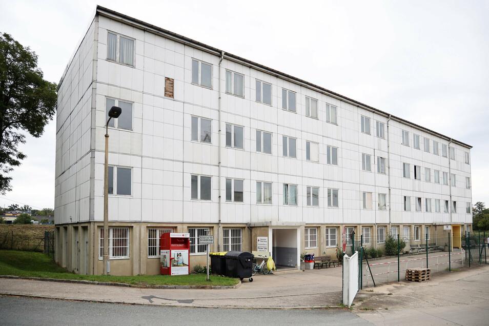 Der aktuelle Standort des Obdachlosenheims an der Klötzerstraße. Derzeit sind hier 24 Männer und Frauen untergebracht.