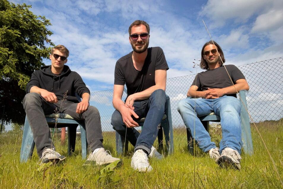 Sorbische Musik ist viel mehr als Folklore: Die Mitglieder der Band Skupina Astronawt.