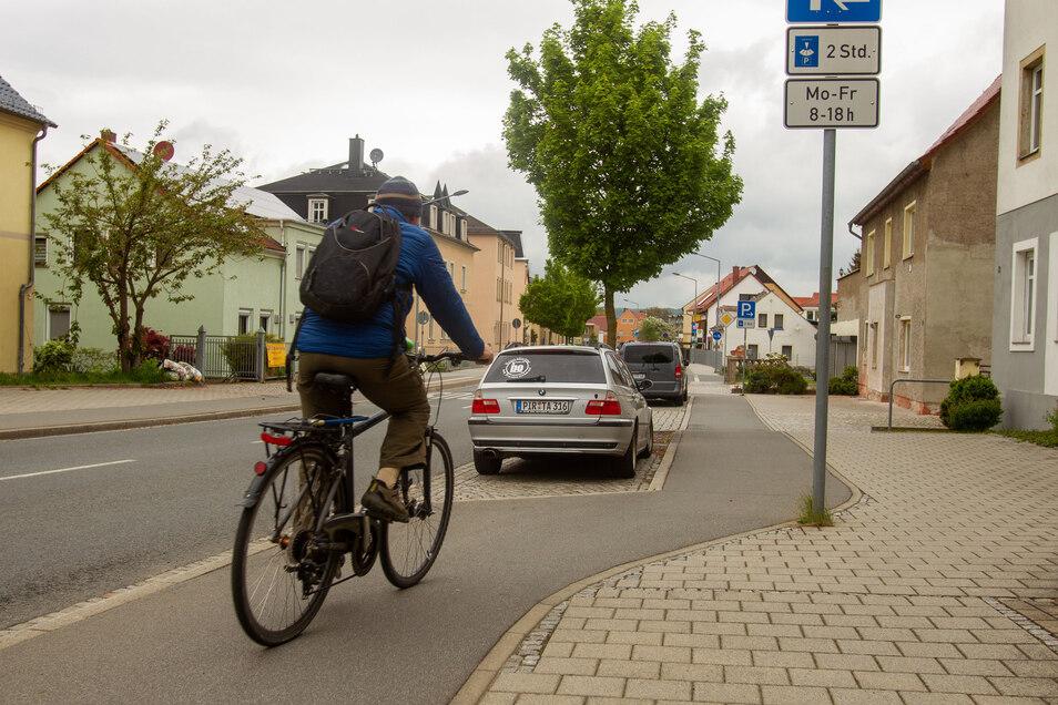 Wo ist Radfahren - auch für für Senioren - in Heidenau gefährlich? Auch das wird beim Verkehrskonzept Thema sein.