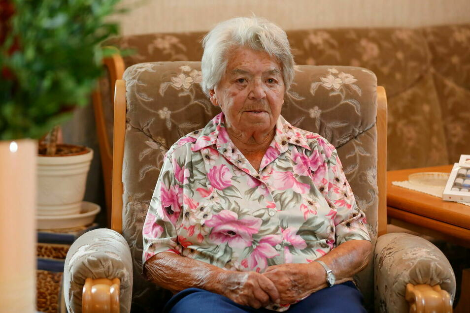 Brunhilde Wagner konnte im Oktober ihren 107. Geburtstag feiern.