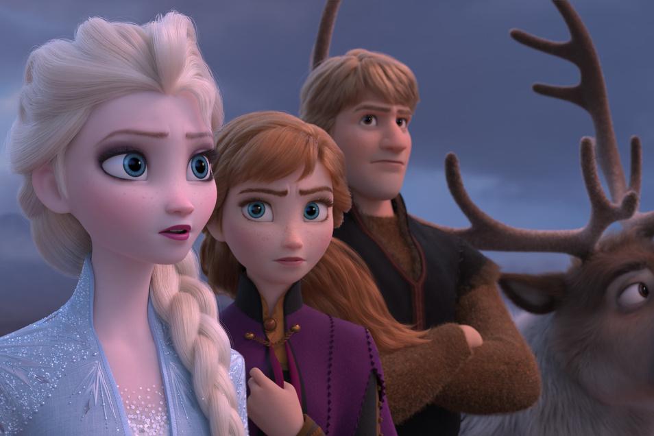 Königin Elsa, Anna, Kristoff und Rentier Sven sind von der Leinwand in die Kinderzimmer gezogen.