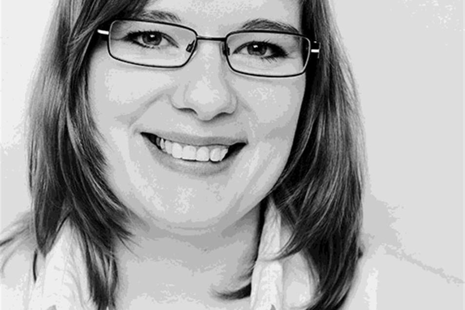 Die Ökotropholgin Wiebke Helmcke ist Projektkoordinatorin der Vernetzungsstelle Schul- und Kitaverpflegung in Sachsen.