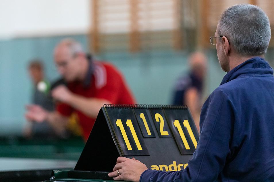 Bis zu 120 Hobby-Spieler können am Turnier in Laußnitz teilnehmen. Gespielt wird an elf Tischen.