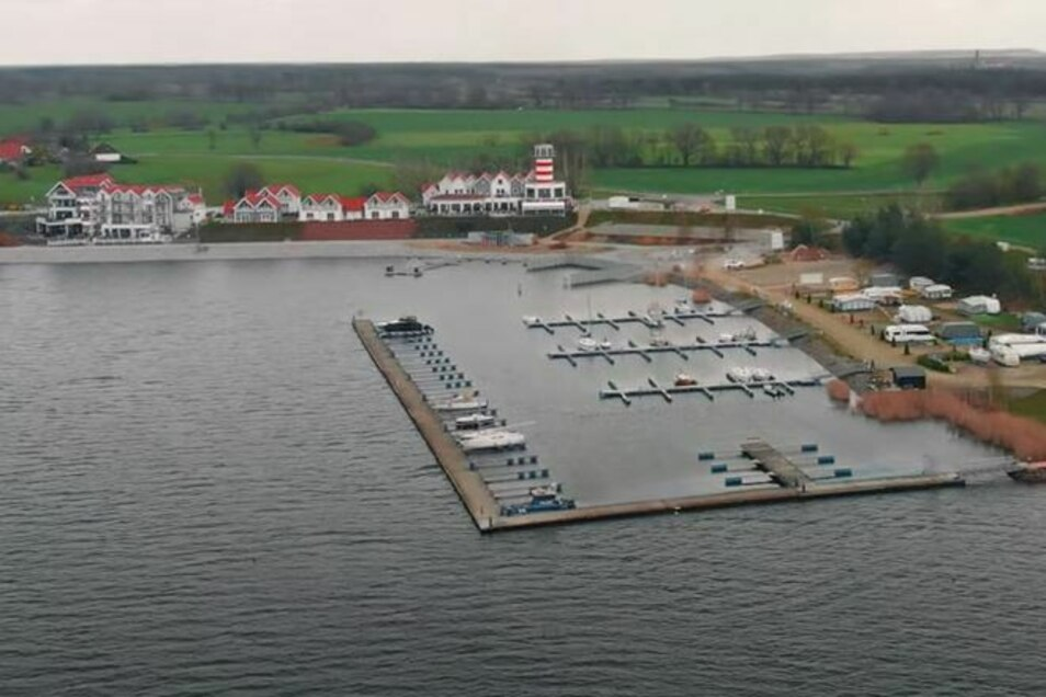 Hier ist der 1. Wassersportverein Lausitzer Seenland zu Hause. Von der Sparkasse bekommt der Verein ein Preisgeld von 3.000 Euro.