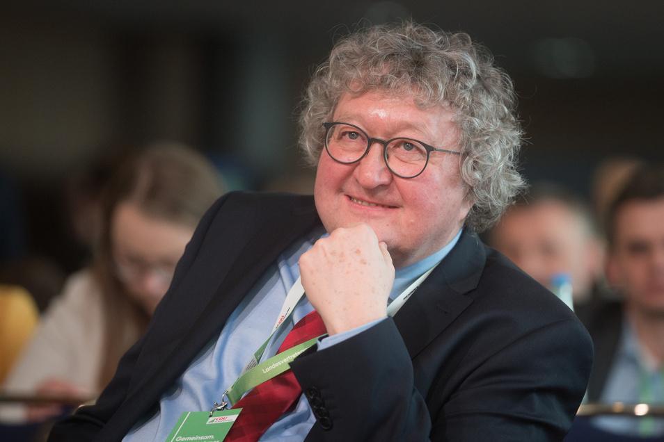 Auch Werner Patzelt, Politikwissenschaftler und CDU-Mitglied, war anwesend.
