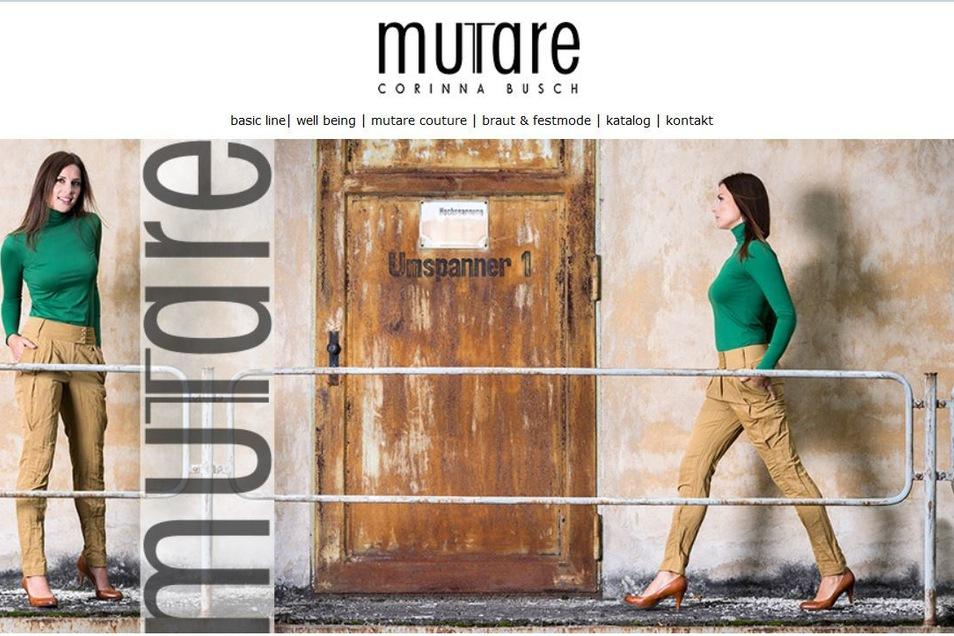 Das Chemnitzer Modelabel Mutare Design feiert 2017 ein Comeback, nachdem Firmengründerin Corinna Busch mit nur 42 Jahren verstorben war. Seitdem prägt die Designerin Babette Sperling das Label, eine Absolventin der Schneeberger Modeschule.