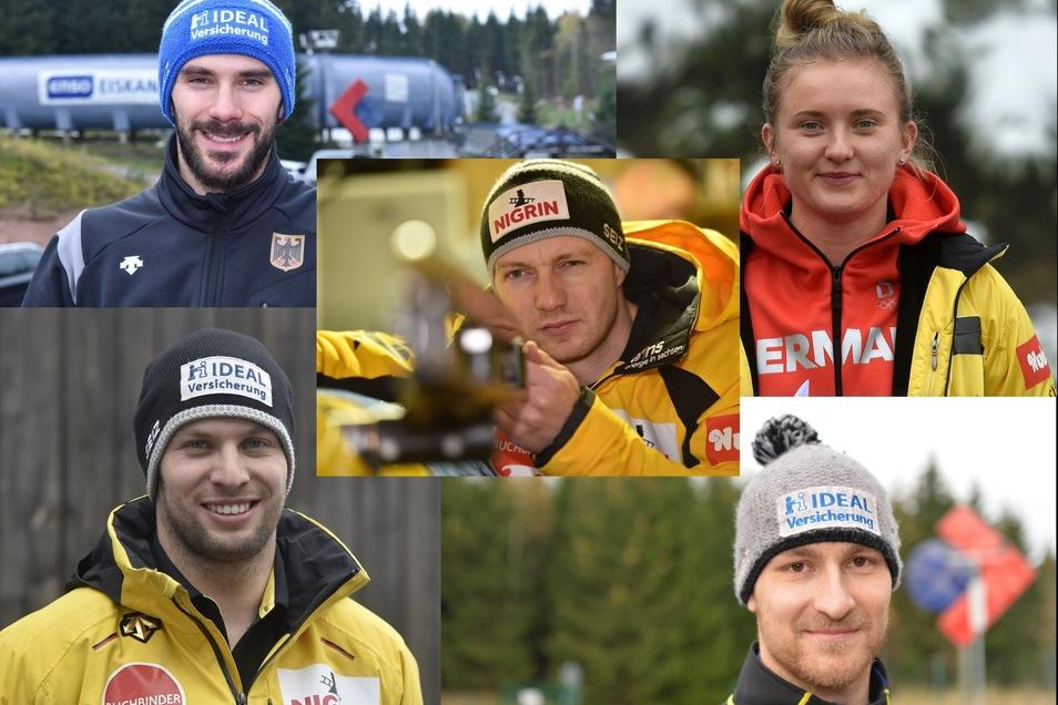 Diese fünf Sachsen haben bei der WM Chancen auf Titel und Medaillen.