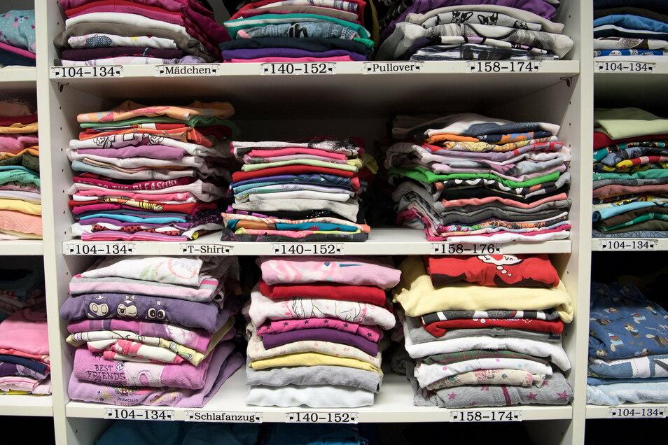In vorigen Jahr gab es einen massiven Anstieg von Kleiderspenden. Doch die Qualität war dabei nicht immer die beste. Das führte zu Problemen in Sachsen.