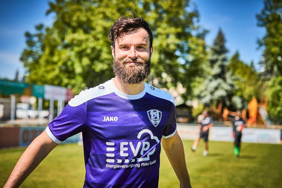 Ronald Wolf traf für den VfL Pirna.