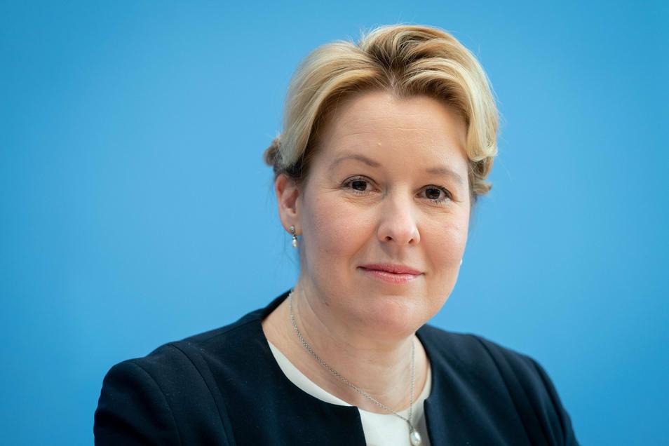 Franziska Giffey (SPD), Bundesministerin für Familie, Senioren, Frauen und Jugend.