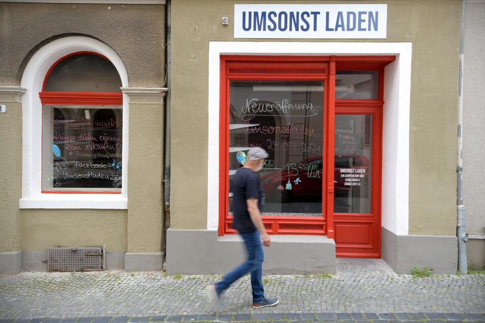 In der Löbauer Gartenstraße gibt es jetzt den Umsonstladen.