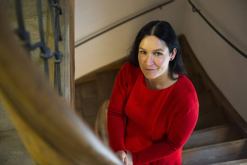 Andrea Behr ist die Chefin der Europastadtgesellschaft Görlitz. Sie kümmert sich unter anderem um die touristischen Belange.