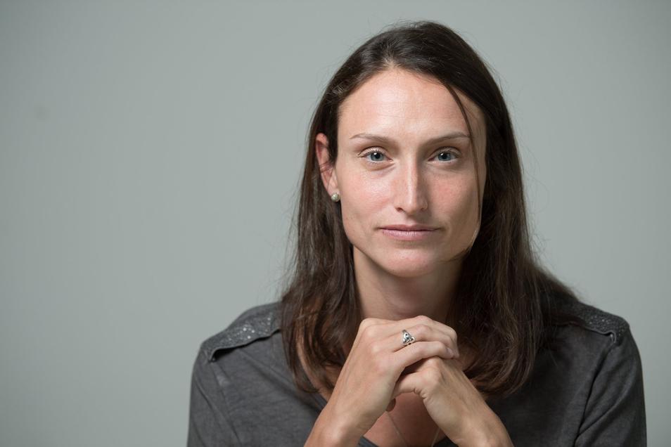 Christiane Fürst führt seit anderthalb Jahren die Geschäfte vom VC Olympia Dresden.