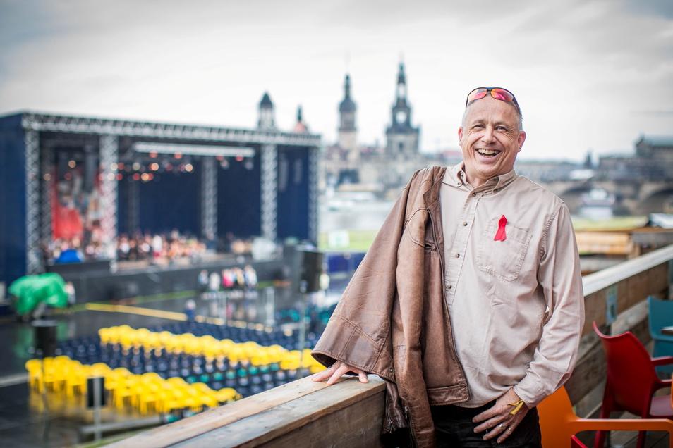 Immer wieder gern in Dresden: Wenn Pfarrer Stefan Hippler Deutschland besucht, fühlt er sich hier wie zu Hause.