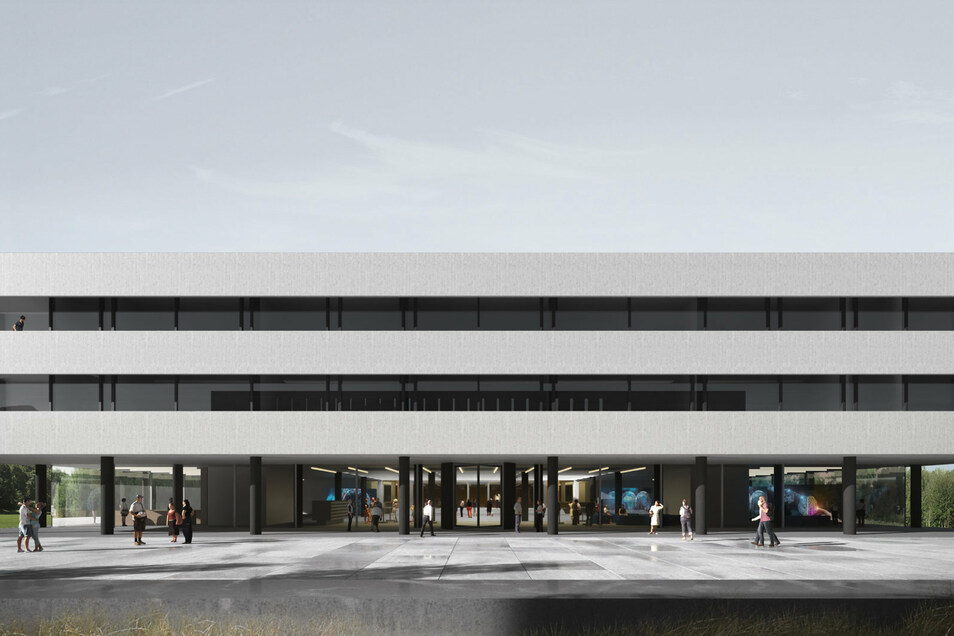 So soll das neue Lehmann-Zentrum II aussehen.