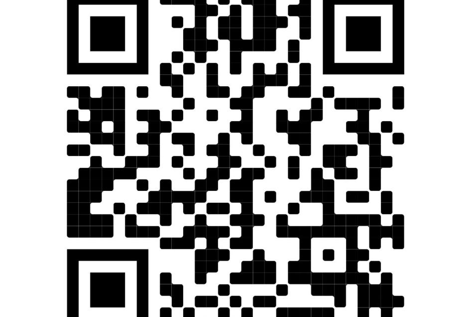 Der QR-Code für die Gesellenfreisprechung.