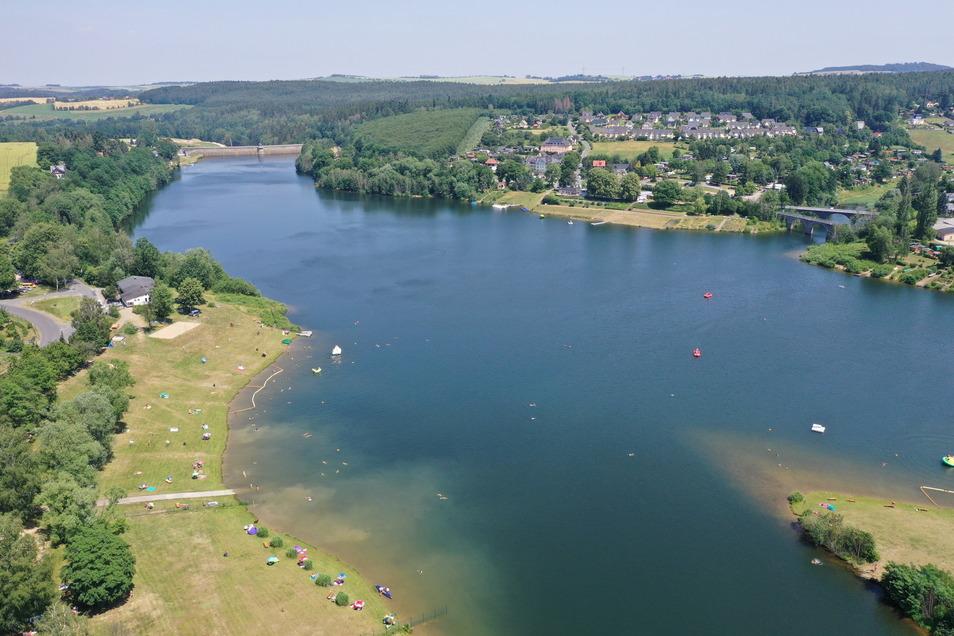 Die Talsperre Malter ist die wichtigste touristische Attraktion im Stadtgebiet von Dippoldiswalde. Für die Entwicklung von Malter, Paulsdorf und Seifersdorf bringt das besondere Aufgaben.