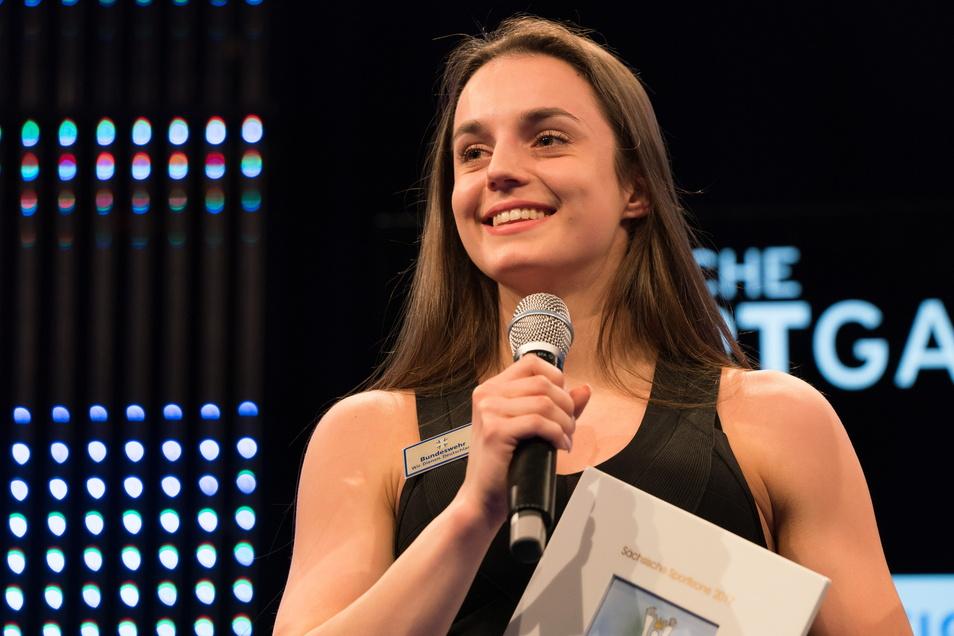 2017 wurde Pauline Schäfer nach ihrem WM-Gold zur Sportlerin des Jahres in Sachsen gewählt. Jetzt erhebt sie schwere Vorwürfe gegen ihre frühere Trainerin.