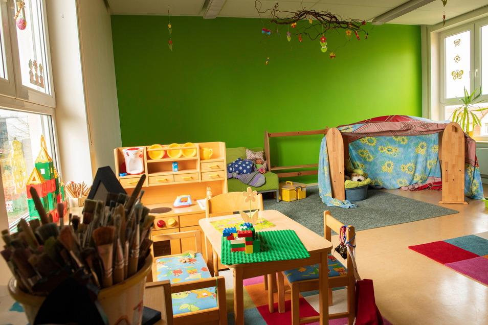 Großzügig und farbenfroh sind die Räume für viel Aktion modernisiert worden.