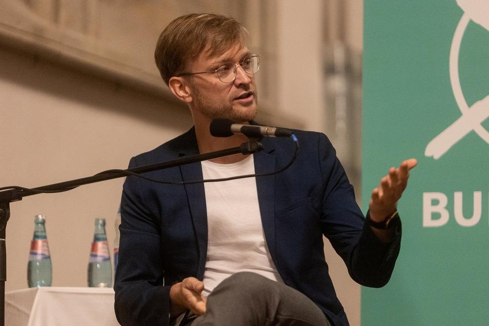 Nino Haustein (Grüne).