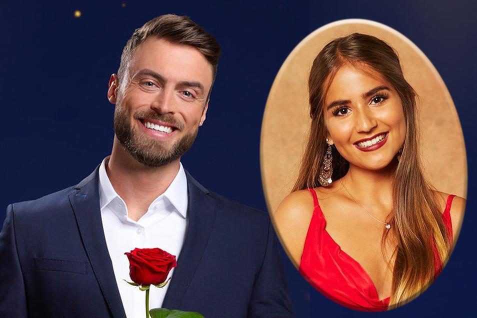 """Suchen das Liebesglück im TV: """"Bachelor"""" Nico Griesert und Kandidatin Nina Röber aus Pirna."""