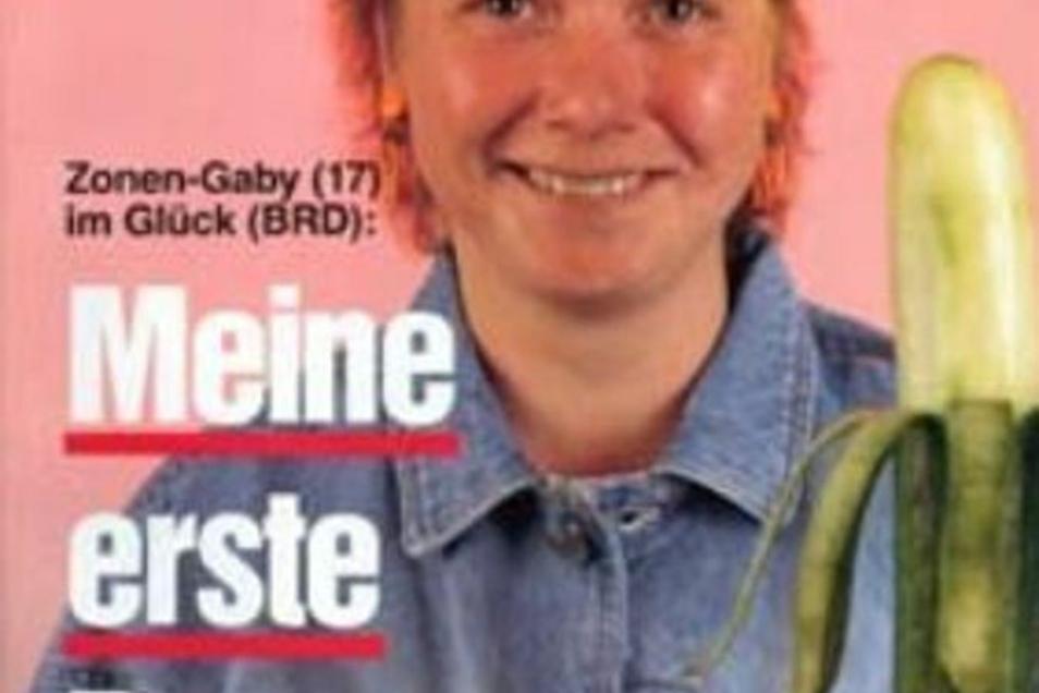 Titanic-Titelseite mit Zonen-Gaby.