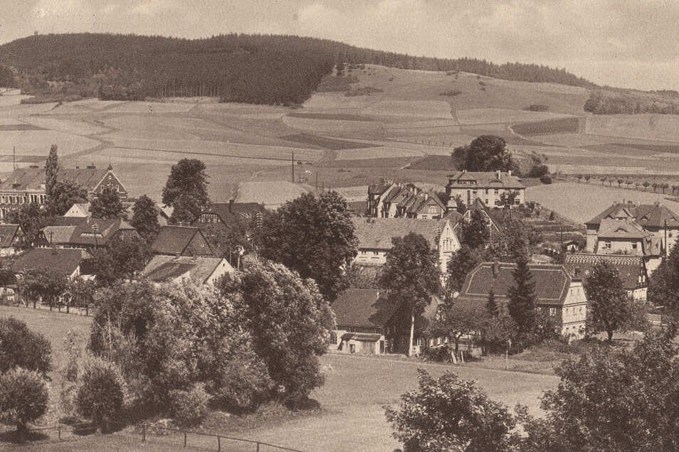 So sah es am Eibauer Hänschberg in der ersten Hälfte des 20. Jahrhunderts aus.