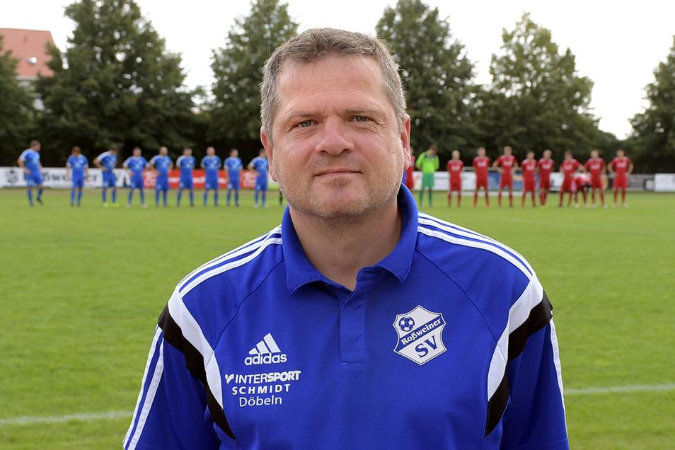 Jörg Soujon sitzt nach zwei Jahren Auszeit wieder auf der Trainerbank. Diesmal beim Roßweiner SV.