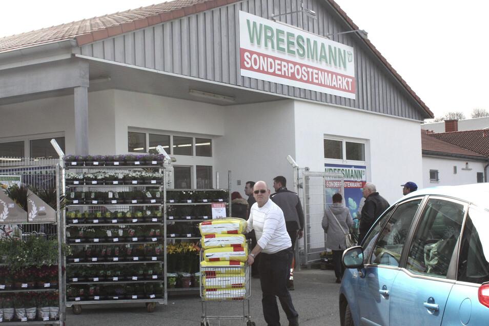 Die Wreesmann-Filialen dürfen wieder öffnen.