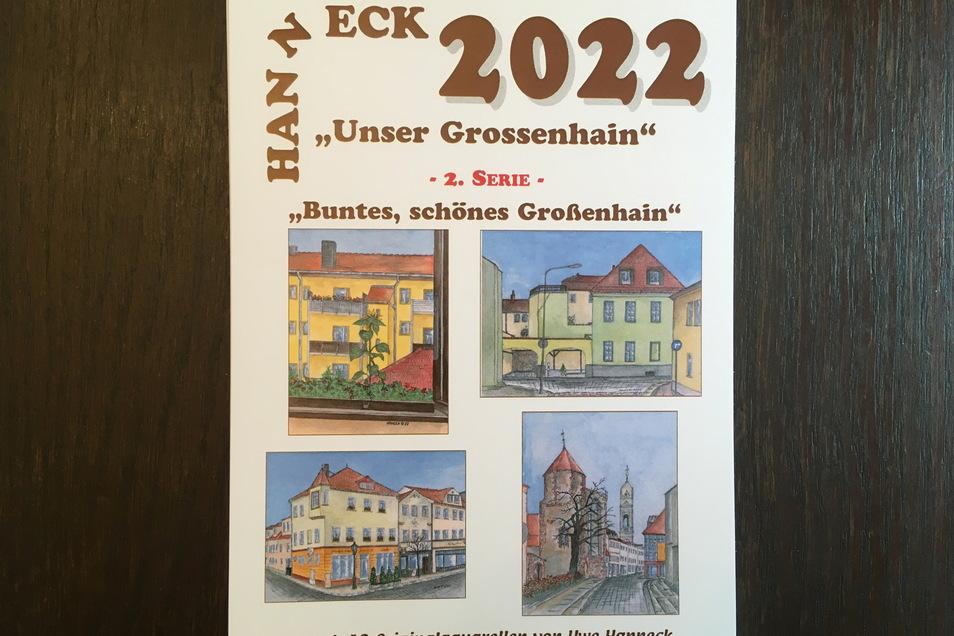 Ab 15. Juli gibt es die neuen Kalender von Stadtmaler Uwe Hanneck. Sie kosten zehn Euro.