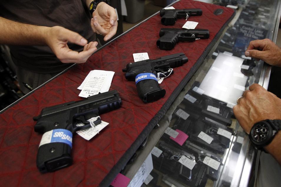 In der Corona-Krise hat die Nachfrage nach Waffen in den USA zugenommen