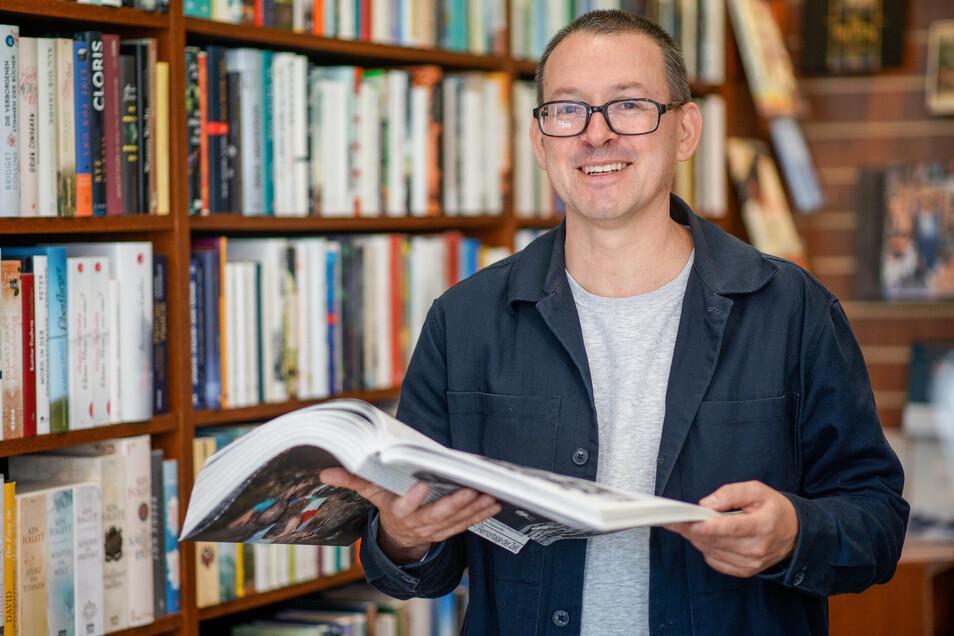 """Jan Wenzel, der in Bautzen aufwuchs, hat im Buch """"Das Jahr 1990 freilegen"""" Erinnerungen an ein besonderes Jahr zusammengetragen."""