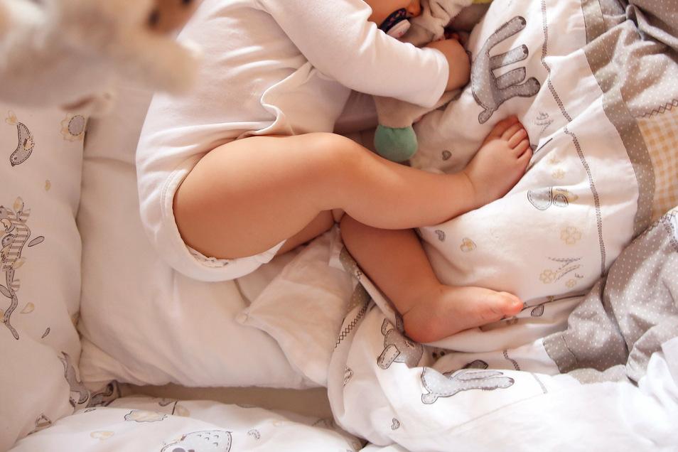 Ein Befall mit Madenwürmern kann Babys unruhige Nächte bereiten.