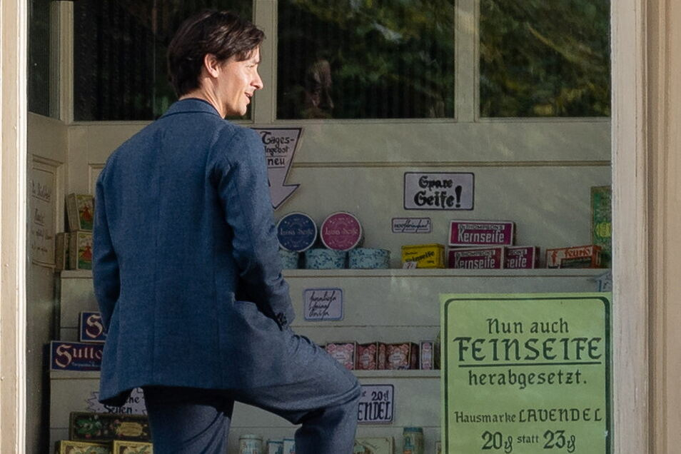 """Tom Schilling stand im August 2019 für den Film """"Fabian"""" in Bautzen vor der Kamera."""
