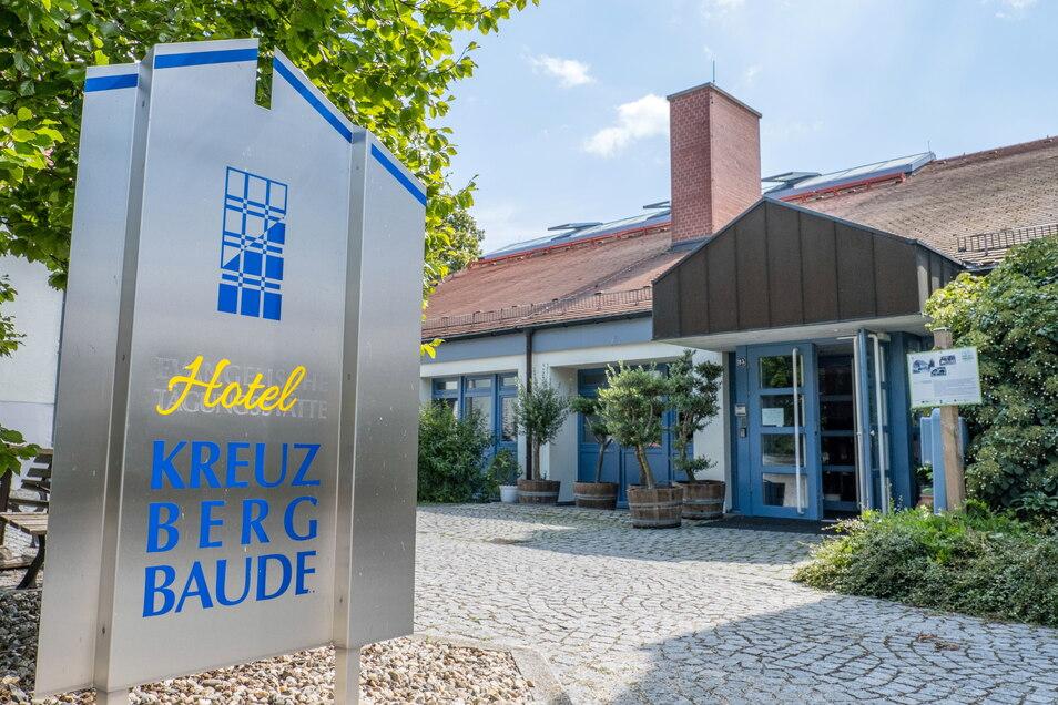 """Hotel """"Kreuzbergbaude"""" in Jauernick-Buschbach öffnete erst im Juni dieses Jahres seine Türen."""