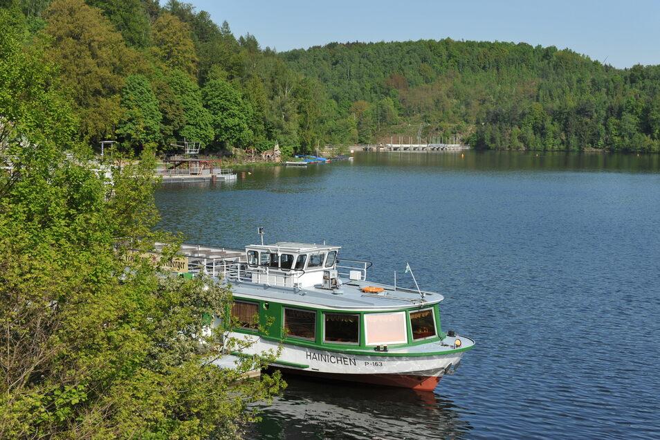 Die ersten Linienschiffe verkehren auf der Talsperre Kriebstein ab dem 1. Mai.