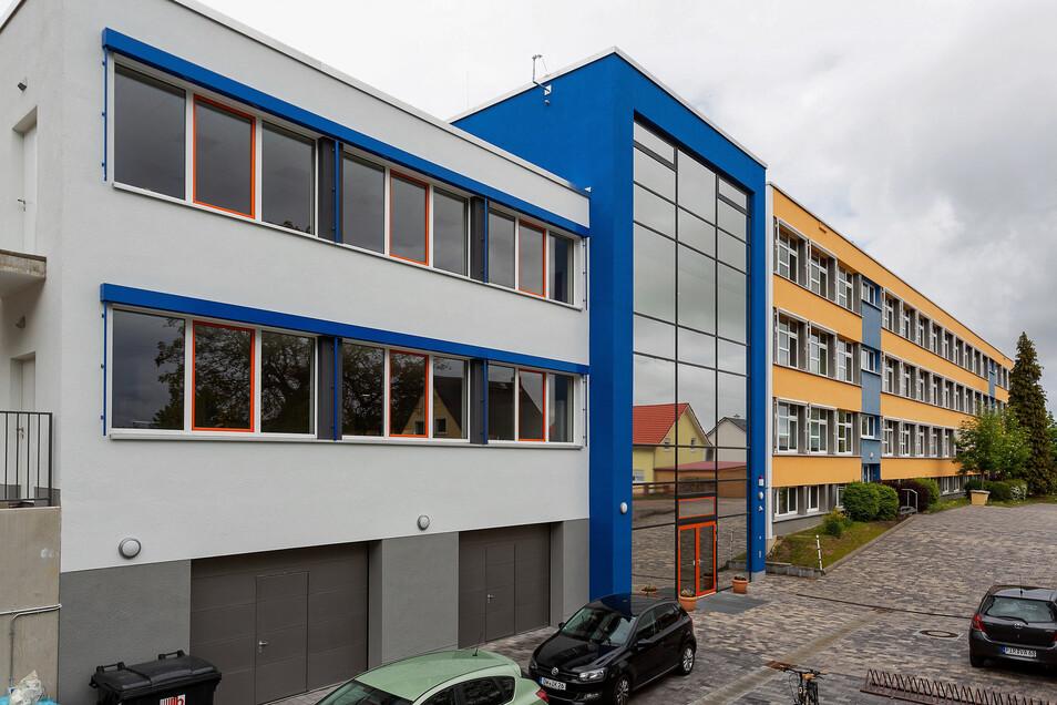 Für den Umbau an der Oberschule Bannewitz fließt weiteres Geld vom Freistaat Sachsen.