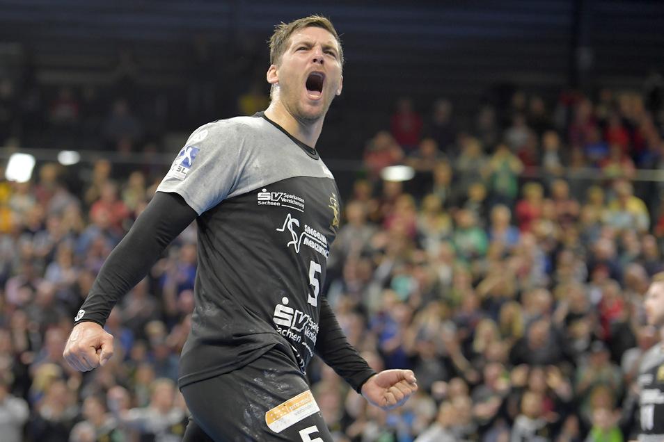 Tim-Philip Jurgeleit ist einer der Schlüsselspieler beim Dresdner Punktgewinn.