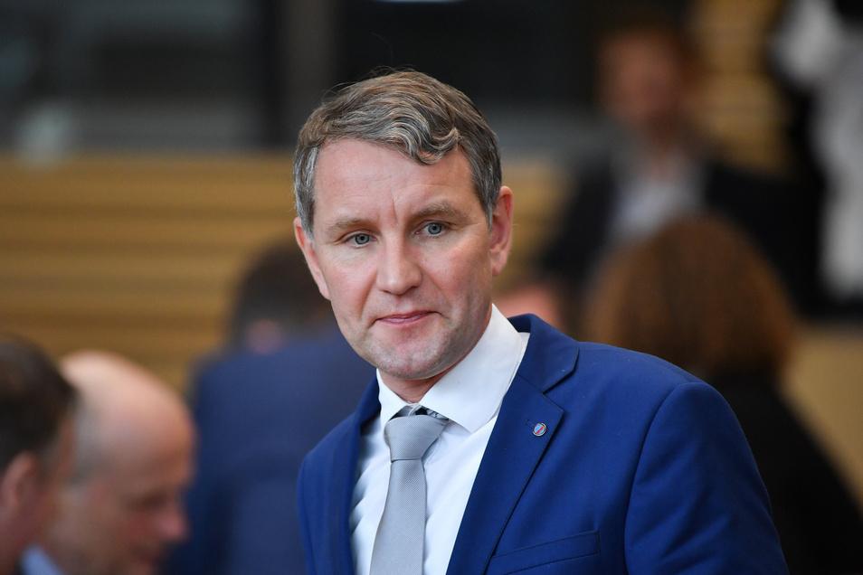 """Der AfD-Fraktionsvorsitzende von Thüringen hatte den """"Flügel"""" gegründet."""